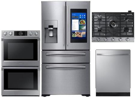 Samsung  1011189 Kitchen Appliance Package Stainless Steel, main image