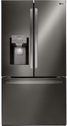 LG LFXS26973D 26 Cu. Ft. Black Stainless French Door Refrigerator