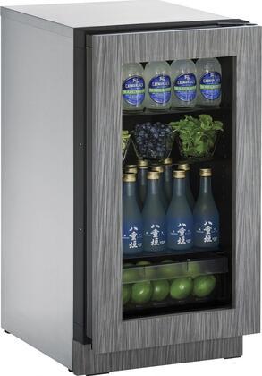U-Line 2000 U2218RGLINT00B Compact Refrigerator Panel Ready, Main Image