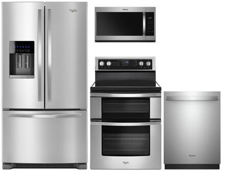 Whirlpool  991765 Kitchen Appliance Package Stainless Steel, main image