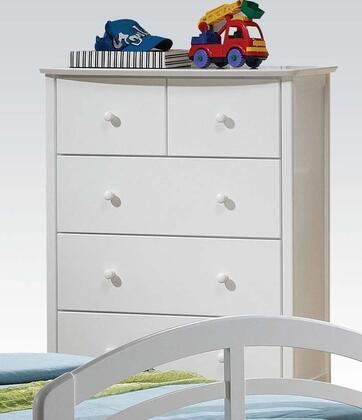Acme Furniture San Marino 09157 Chest of Drawer White, 1
