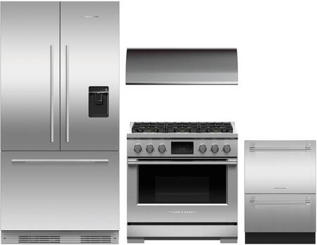Fisher Paykel 1125292 Kitchen Appliance Package & Bundle Stainless Steel, main image