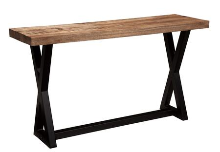 Signature Design by Ashley Wesling T8734 Sofa Table Brown, Main Image