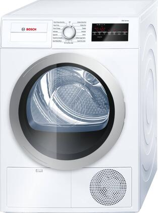 Bosch 500 Series WTG86401UC Electric Dryer White, Main Image