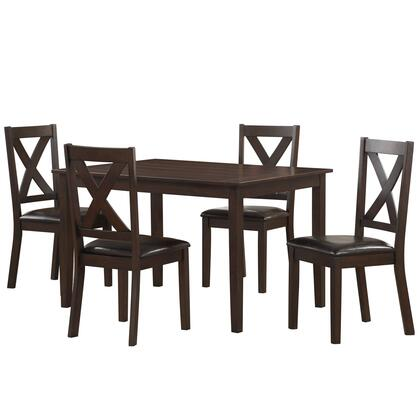 Accentrics Home DSD186130 Dining Room Set, evof3wvhx9lb9ppymmvz