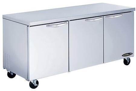 Kool-It  KUCR723 Undercounter and Worktop Refrigerator Stainless Steel, KUCR723 Undercounter Refrigerator