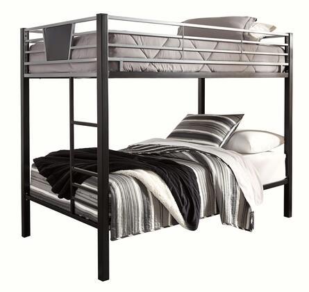 Signature Design by Ashley Dinsmore B10659 Bed Black, Main Image