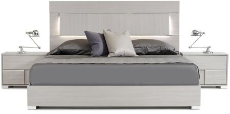 VIG Furniture Modrest Ethan Italian VGACETHANBEDEK Bed Gray, Main Image