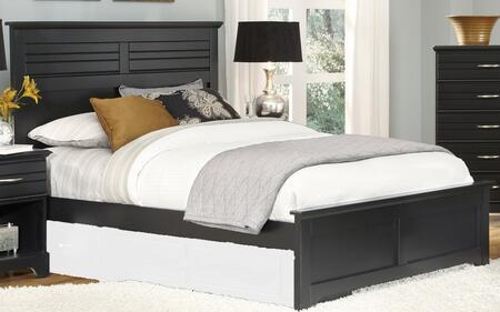 Carolina Furniture Platinum 5078403509400 Bed Black, Main Image