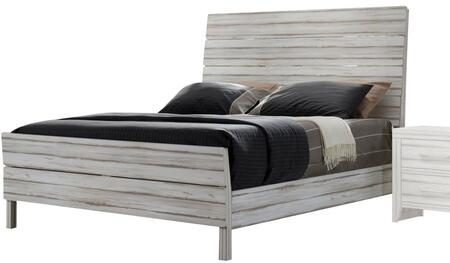 Acme Furniture Shayla 23970Q Bed White, 1