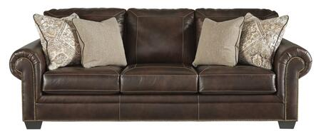 Signature Design by Ashley Roleson 5870238 Stationary Sofa Brown, 5870238 Front