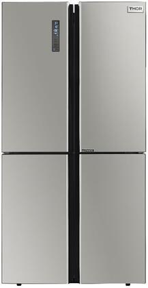 Thor Kitchen  HRF3603F French Door Refrigerator Stainless Steel, HRF3603F French Door Refrigerator