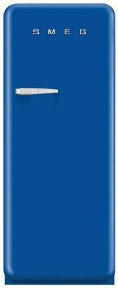 Smeg 50s Retro Style FAB28UBER1 Top Freezer Refrigerator Blue, Main Image