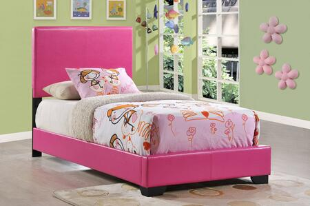 Global Furniture USA 8103 8103PTB Bed Pink, Main Image
