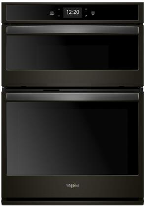Whirlpool WOC75EC0HV Double Wall Oven Black Stainless Steel, Main Image
