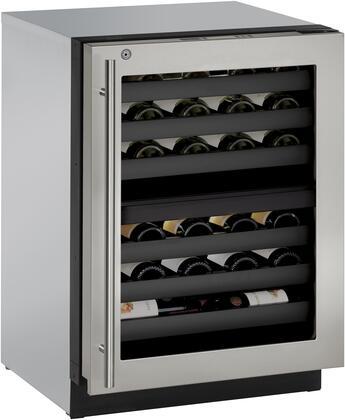 U-Line Modular 3000 U3024ZWCS13B Wine Cooler 26-50 Bottles Stainless Steel, Main Image