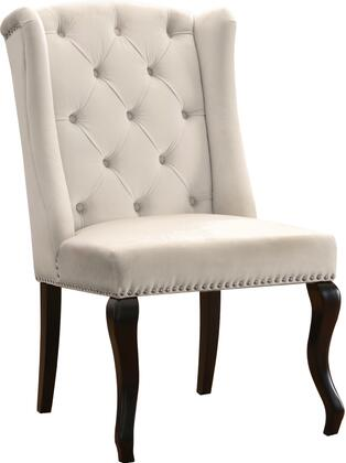 Meridian Suri 772CreamC Dining Room Chair Cream, main image