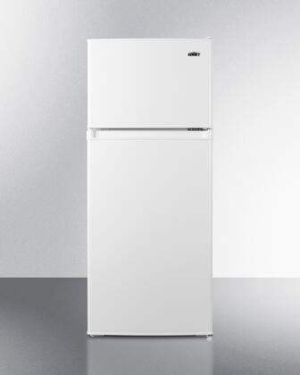 Summit  CP72W Top Freezer Refrigerator White, CP72W Top Freezer Refrigerator