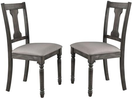 Acme Furniture Wallace 71437 Dining Room Chair Gray, Main Image