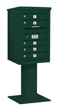 Salsbury Industries 3407S05GRN Commercial Mailboxes, 3407S-05GRN Main
