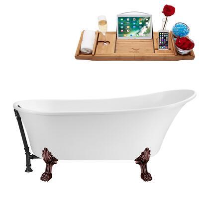 Streamline  N341ORBBL Bath Tub White, N341ORB BL 1
