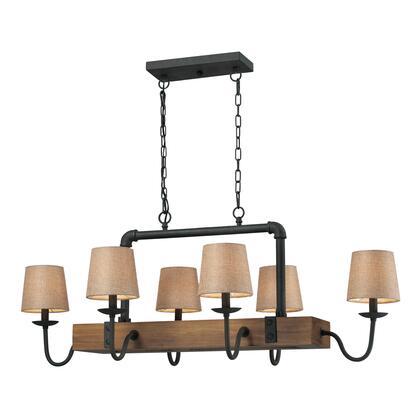 Light Chandelier in Colonial Maple - $86