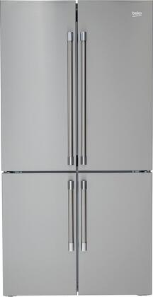 BFFD3626SS 36″ 4 Door French Door Refrigerator with 19.77 cu. ft. Capacity  EverFresh+  NeoFrost Dual Cooling Technology and IonGuard Technology in