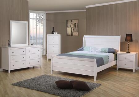 Coaster 400231SET4 Bedroom Set, 1