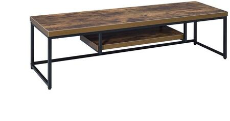 Acme Furniture Bob Series 91780 42 in. to 51 in. TV Stand Brown, 1