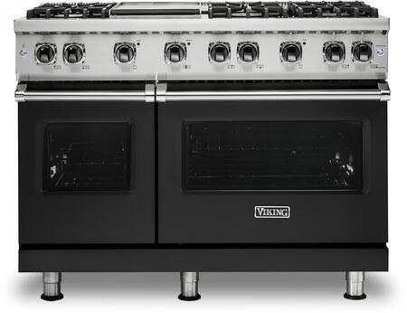Viking 5 Series VGR5486GCSLP Freestanding Gas Range Black, VGR5486GCSLP Gas Range