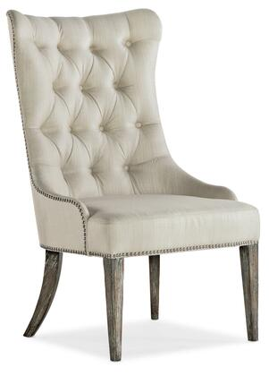 Hooker Furniture Sanctuary 2 58657541580 Dining Room Chair Beige, Silo Image