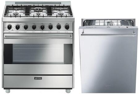 Smeg 890389 Kitchen Appliance Package & Bundle Stainless Steel, 1