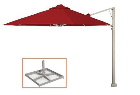 Shadowspec SU6 Series KITP6OCT35UNOPBREDA Outdoor Umbrella Red, KITP6SQ25UNOPBREDA