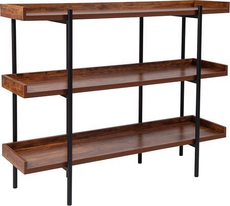 Flash Furniture Mayfair JN2542B3GG Shelf Brown, 1
