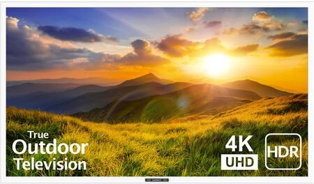 SB-S2-55-4K-WH 55″ Signature 2 Series 4K UHD Outdoor TV with HDR  OptiView Technology and TruVision Anti-Glare Technology in