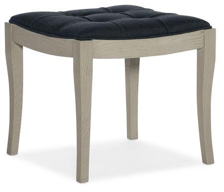 Hooker Furniture Reverie 57959001949 Bench Blue, Silo Image
