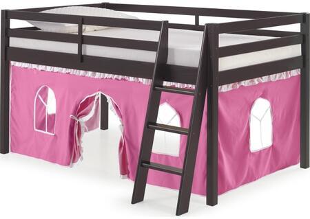 Bolton Furniture Roxy AJRX10P0ATPWH Bed Pink, AJRX10P0ATPWH side