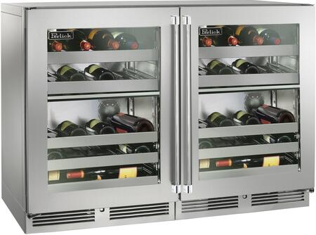 Perlick Signature 1443708 Wine Cooler 51-75 Bottles Stainless Steel, 1