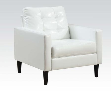 Acme Furniture Balin 59048 Accent Chair White, Accent Chair