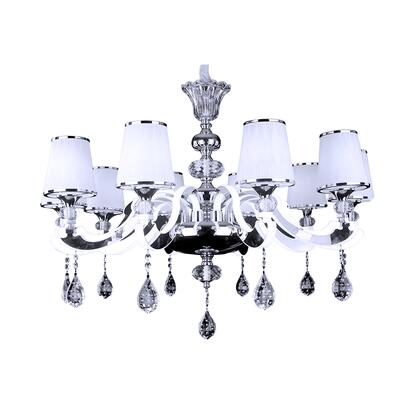 St Stopez Collection B4503 Platinum Chandelier in Chrome