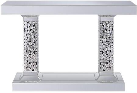 Acme Furniture Kachina 90446 Console Silver, 90446 front