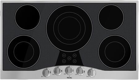 Viking  RVEC3365BSB Electric Cooktop Black, 36 in Cooktop