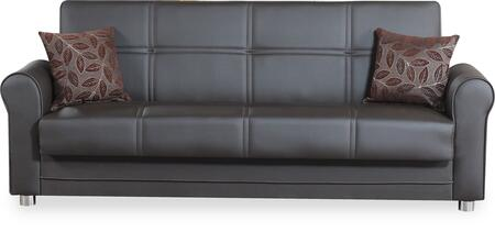 Casamode Avalon Plus AVALONPLUSSOFABEDZENBROWN Sofa Bed Brown, Main Image