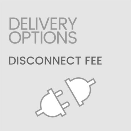 Delivery Options Disconnectfee