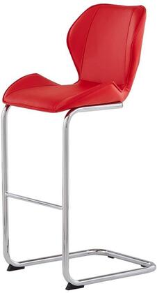Global Furniture USA D1446 D1446BSR Bar Stool Red, Main Image