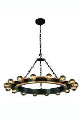 Elegant Lighting 1500D35VBGI Ceiling Light, Image 1