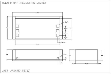 Twin Eagles  TEIJ54 Insulated Jacket , Diagram