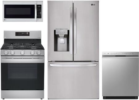 LG  1135123 Kitchen Appliance Package Stainless Steel, 1