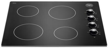 Bertazzoni Professional P244CERNE Electric Cooktop Black, P244CERNE  24 Ceramic cooktop