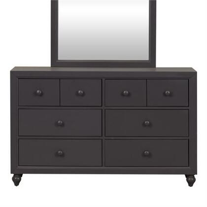 Liberty Furniture Cottage View 423BR30 Dresser Gray, Main view